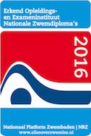 AVZV is een erkend opleidingsinstituut voor de zwemdiploma's!